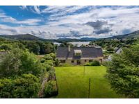 Deluxe 4 Bedroomed Property for sale, Portree, Isle of Skye with stunning scenic views.