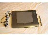 Wacom Intuos 3 Graphics Tablet PTZ-630 with pen