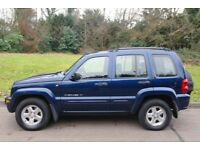 2002/52.. Jeep Cherokee 2.5 CRD Limited.. Diesel.. 4x4.. BARGAIN TO CLEAR £450..