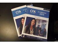 Kaplan Schweser CFA Level 2 practice exam 2015 version volume 1 and 2