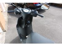Yamaha YN 50cc neo easy moped + RST helmet