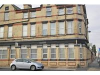 53 Marsh Lane, Bootle, FL7. Single bedroom apartment with DG & fitted kitchen. DSS welcome.