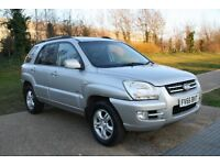 2005 KIA SPORTAGE XS 2.0 CRDI AUTOMATIC LEATHER SUNROOF LOW MILES WARRANTY PART EXCHANGE WELCOME