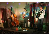 Trad Country Band seek drummer to complete line-up, at present two guitars and stand-up bass.