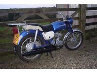 1975 suzuki b120 motorbike not 125cc