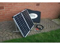 Solar Panel - Folding 120W with Extension Cable