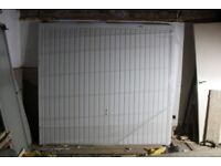 *** NEW GARAGE DOOR THORNBY CANOPY PRE-FRAMED FULLY FINISHED WHITE RAL9016 **
