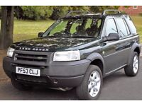 4x4 Land Rover Freelander 2.0L Td4 Diesel 5 Speed Manual 5 Door in Metallic Green