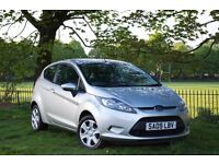 2009 FORD FIESTA STYLE SILVER 3 DR MANUAL HATCHBACK*LOW MILEAGE ***BRAND NEW MOT***LOW INSURANCE***