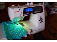 Janome TXL607 sewing machine, like new, no box