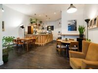 Private office with communal spaces Zone 2 Bethnal Green (£140-210pcm +VAT per person)