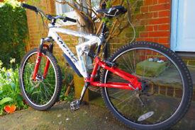 24 Speed Viking Vantage Downhill Mountain Bike