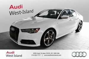 2016 Audi A6 3.0T TECHNIK S-LINE, SUSPENSION SPORT *CPO 1 INCLU