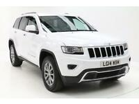 Jeep Grand Cherokee V6 CRD LIMITED (white) 2014-03-28