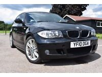 2010 BMW 120D 1 SERIES M SPORTS 97K SERVICE HISTORY 5DR 6SP stop start