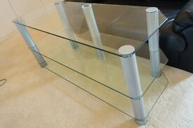 Glass 3 tier TV Stand / Table (Originally from John Lewis)