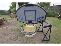 Basketball Hoop & backplate - wall mount kit inc.