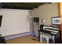 Music | Photography Studio Day Rent SPECIAL OFFER: £75 A DAY WAS: £100 A DAY