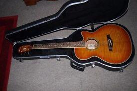 IBANEZ semi acoustic guitar.