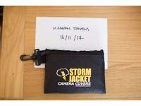 Storm Jacket Waterproof Camera Cover Medium Size Pro Model 14 inch Black