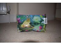 Brand new Catseye wash bag with 2 large pockets