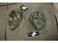 Pair of KombatUK Jungle Boonie Hats (one US Army style other Brit SF) Size Large or XL