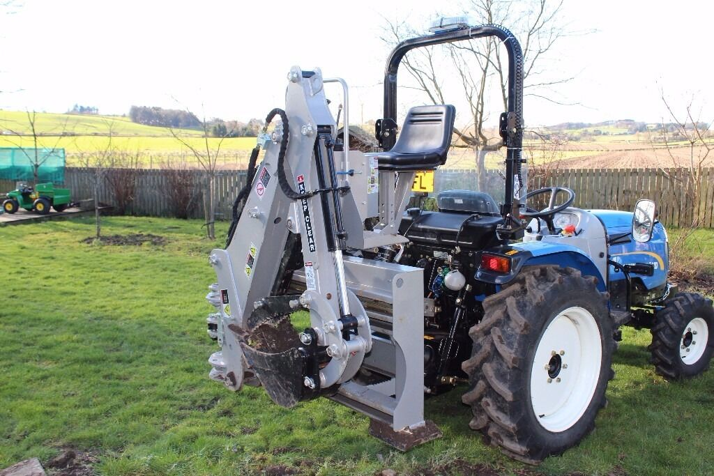 Three Point Linkage Tractor : Jansen bhsm point linkage tractor mounted pto driven