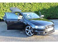 Audi S4 Avant 3.0 TFSI V6 Black Edition S Tronic Quattro 5dr..Beautiful Example of a Very Scarce Car