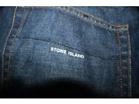 """Stone Island Jeans 34"""" waist, Made in Italy"""