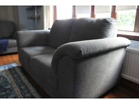ikea tidafors grey 2 seater sofa. like new .collection only