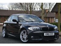 ✅LOOK AT THIS✅ 2012 61 Bmw 118d m sport coupe 6 speed manual hpi clear Vosa verified