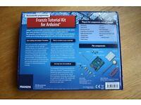 Franzis Tutorial Kit for Arduino. Kit & Manual
