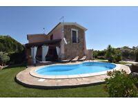 Amazing Villa with swimming pool in SARDINIA San Teodoro near airport and beach!