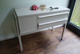 Upcycled Sewing/Craft Storage Unit (Painted in Farrow & Ball Purbeck Stone)