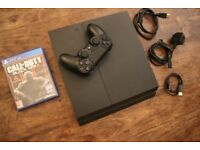 PS4 500GB with Call Of Duty