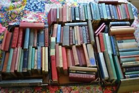 Assorted hard back books - roughly 80 in total