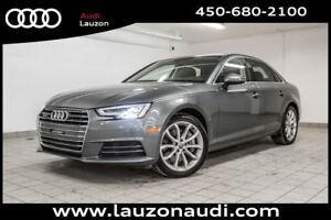 2017 Audi A4 2.0T PROGRESSIV LED HEADLIGHTS NAV CAMERA