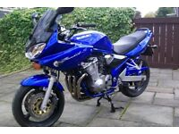 suzuki bandit 600, 52 reg, low mileage, very good condition, ready to ride away, must be seen