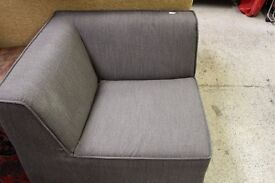 Grey corner sofa (from Cambridge Re-use, a Charity Organisation)