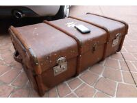 STEAMER TRUNK / VINTAGE CASE, £50 CAN DELIVER LOCALLY