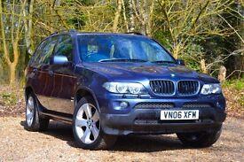 BMW X5 3.0 i Sport 5dr FULL SERVICE HISTORY 2006 (06 reg), SUV 81,000 miles Automatic 2979cc Petrol