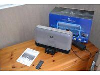 ALTEC LANSING IPOD SPEAKER DOCK - FAULTY MODEL M602 BLACK DIGITAL