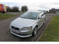 OLVO S40 2.0 D R-DESIGN,2010, Leather,Alloys,Air Con,Cruise Control,6 Speed,48mpg,Excellent Car