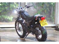 Yamaha TW 125 learner legal trail enduro tracker bike MOT'd CBT