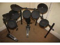 Alesis Nitro Series (Not the Nitro Mesh Version)) Electronic Drum Kit + Sticks and Stool - £115 ono