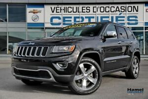 2016 Jeep Grand Cherokee NAVIGATION,TOIT OUVRANT,CUIR,4X4,JANTES