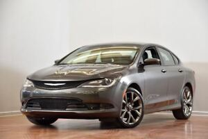 2016 Chrysler 200 S V6 CAM ENSEMBLE CONFORT154$/2SEM+TX