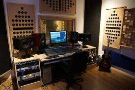 Vocal Recording, Music Production and Mixing/Mastering Studio Services