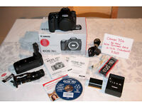 Canon 70D Body with Battery Grip - Immaculate 'as new' condition