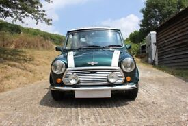 Rover Mini Cooper RSP in British Racing Green with 17,000 Miles